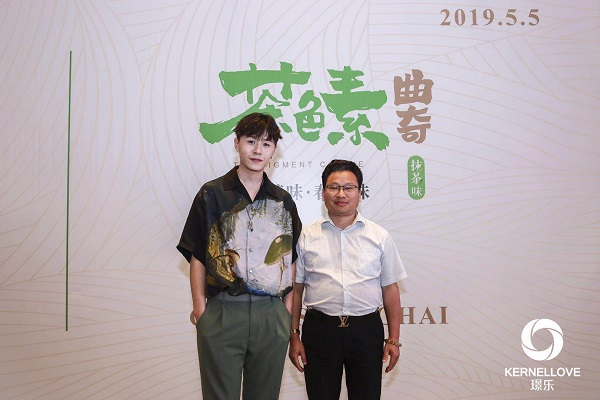 万博体育manbetx手机版登陆与著名歌手杨臣刚交流传统文化与音乐创作